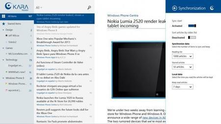 Kara Reader para Windows 8