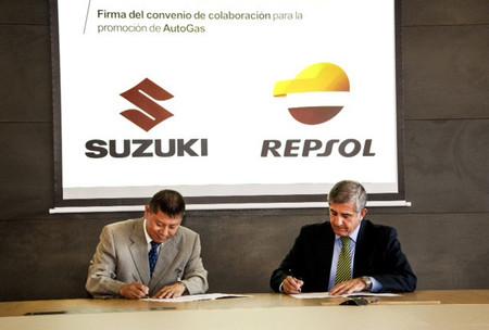 Repsol y Suzuki aúnan fuerzas por el GLP