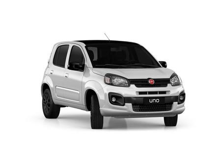 Los Fiat Uno y Mobi estrenan la edición limitada Blacktop en México
