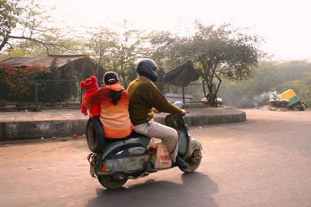 Vespa en Nueva Dheli (India)