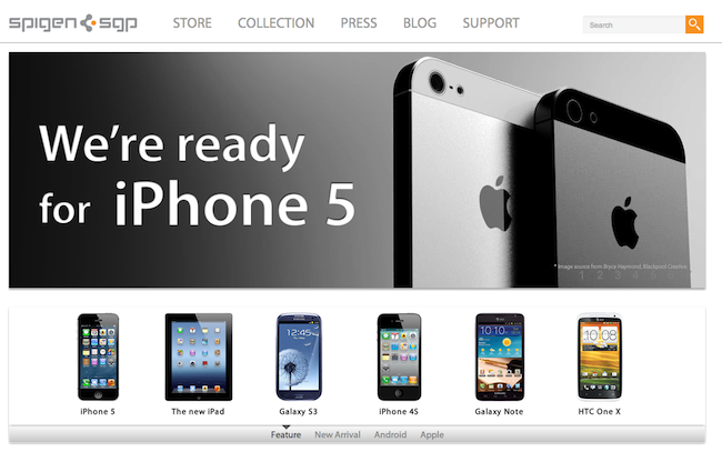 iPhone 5 en web alemana
