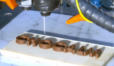 Choc Creator, impresión 3D con chocolate