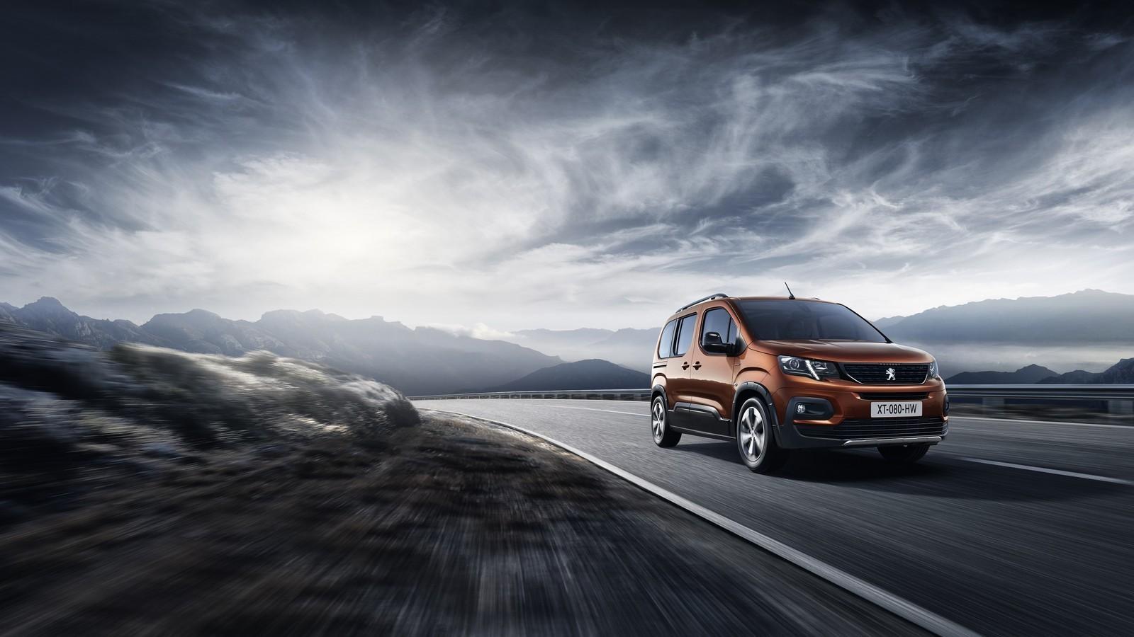 Foto de Peugeot Rifter 2018 (1/16)
