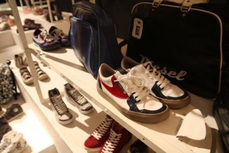 Diesel, colección Otoño-Invierno 2010/2011 en el Bread and Butter en Berlín, calzado