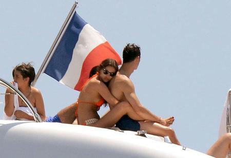 Qué bien se consuela Cristiano Ronaldo de vacaciones con Irina Shayk