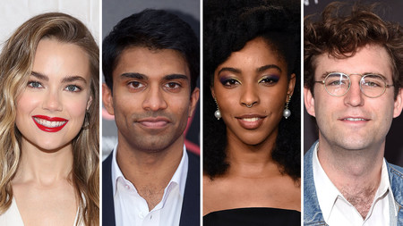 Rebecca Rittenhouse, Nikesh Patel, Jessica Williams y John Reynolds