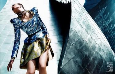 Vogue China, cuando moda y ciencia se juntan