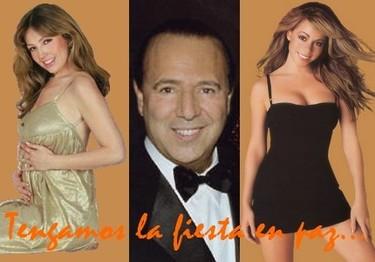 "Thalia invita a Mariah Carey a su ""baby shower"""