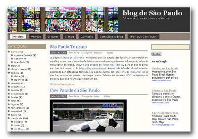 Nuevo blog de San Pablo (Brasil)