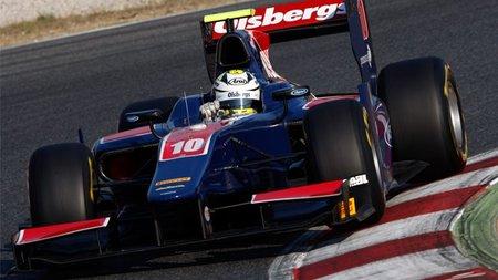 Marcus Ericsson marca el mejor tiempo en el primer día de pruebas de la GP2 en Barcelona