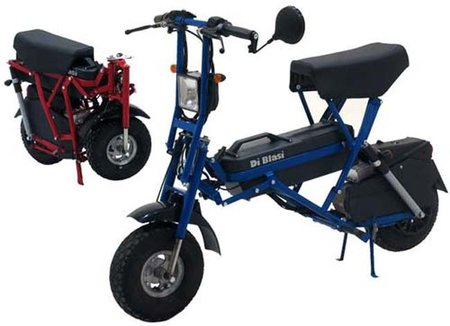Rapimoto, conducimos por ti, en una moto eléctrica