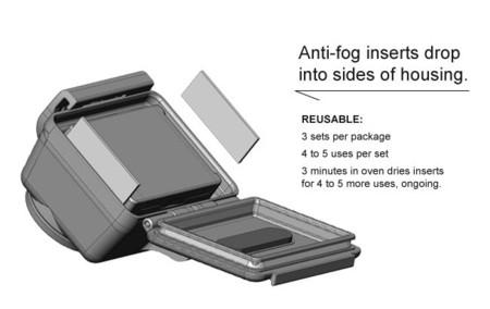 Almohadillas antihumedad para GoPro