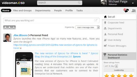 Zyncro 4.0, la nueva versión de la red social corporativa en la nube