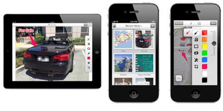 Skitch 2.0, la aplicación se renueva por completo y llega al iPhone
