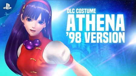 The King of Fighters XIV regala el aspecto clásico Athena para celebrar la navidad