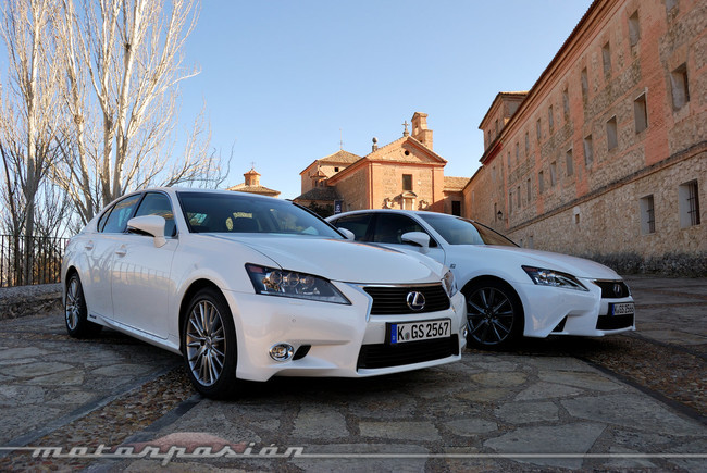 lexus gs 300h toma de contacto. Black Bedroom Furniture Sets. Home Design Ideas