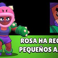 Se acaba el reinado de Rosa en Brawl Stars: se cambia a la brawler y se empeora su habilidad súper