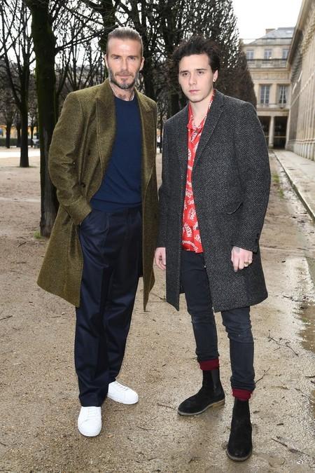 Los Beckham Y Demas Celebridades Despidieron A Kim Jones En Su Ultimo Desfile Para Louis Vuitton En Paris 2