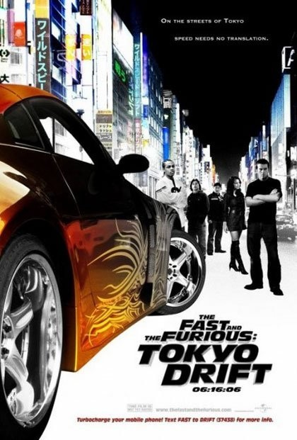 The Fast And The Furious: Tokyo Drift, el poster oficial