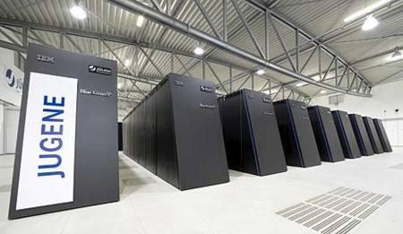 Jugene, el ordenador más rápido de Europa