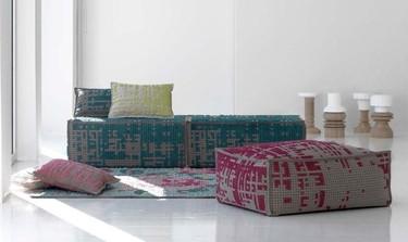 Decora tus muebles y espacios con punto de cruz de gran tamaño