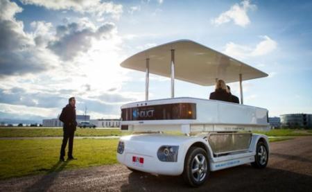 NAVIA, primer vehículo autónomo y eléctrico
