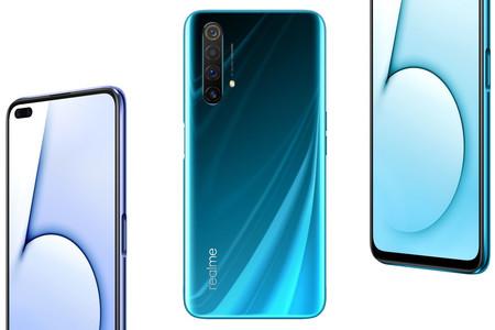 Realme X50 5G: el primer móvil 5G de la casa llega con pantalla de 120 Hz, cámara frontal doble y trasera cuádruple