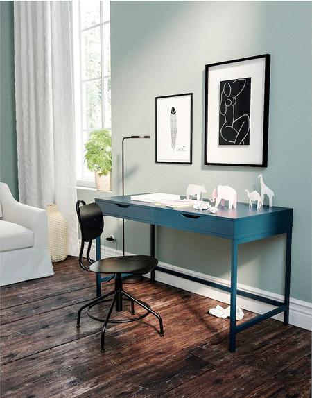 escritorio elegante de ikea