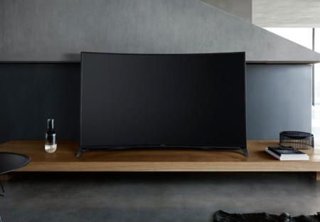 Panasonic curva su televisor tope de gama para 2015