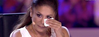 El pantano de lágrimas de Isabel Pantoja al escuchar a un Paquirrín cantando 'Marinero de Luces' en Idol Kids: Paquirri, era su vida él