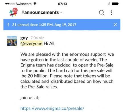 Enigma Catalyst Hacked Telegram Slack Mailchimp All Compromised