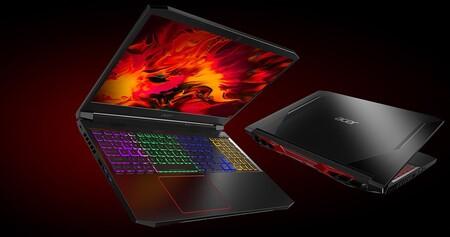 Este portátil gaming Acer Nitro 5 con gráfica RTX 2060 es un chollo en el Día Sin IVA de MediaMarkt: 825 euros con envío gratis [AGOTADO]