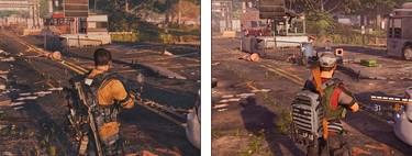 The Division 2: el primer gameplay de 2018 frente a la versión final de Xbox One X en una comparativa a 4K