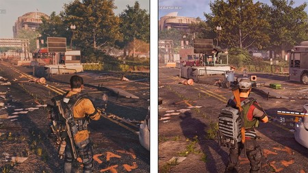 The Division 2: el primer gameplay de 2018 frente a la versión final de Xbox One X en una comparativa a 4K