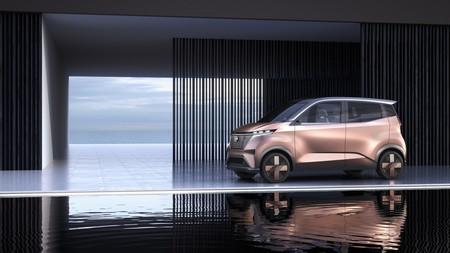 Nissan IMk concept, el coche eléctrico urbano con el que Nissan busca implementar su nueva plataforma eléctrica y líneas de diseño