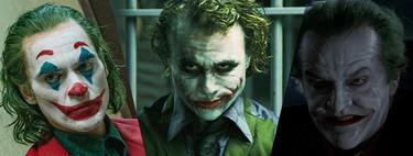 Todos los Joker del cine ordenados de peor a mejor