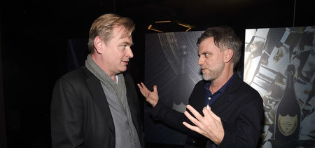 Nolan with Paul Thomas Anderson