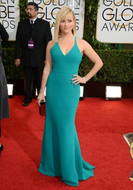 Reese Witherspoon look globos de oro 2014