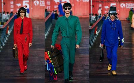 Ni La Pandemia Detuvo A Louis Vuitton Al Presentar En China Su Nueva Coleccion Primavera Verano 2021 1
