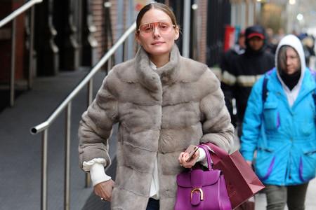 Olivia Palermo, más natural que nunca, por las calles de Nueva York también nos da una lección de tendencias