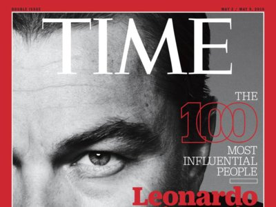 Leonardo DiCaprio encabeza la lista de los 100 Most Influential People publicada por la revista Time