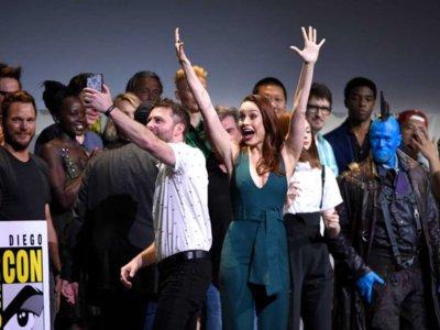 Marvel en la Comic-Con 2016: nuevos logos, el villano de Spider-Man, Brie Larson y trailers secretos