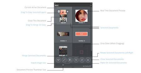 DOCO para Photoshop CC, una extensión para manejar múltiples documentos en Photoshop