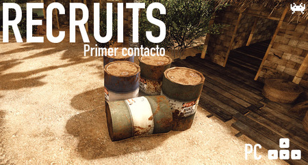 'Recruits' para PC: primer contacto