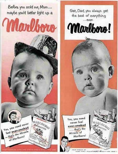 Marlboro Used Babies To Sell Cigarettes In The 1950s 1