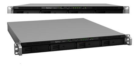 Nuevos servidores NAS  de Synology  RS814+ y RS814RP+, potencia y capacidad de almacenamiento