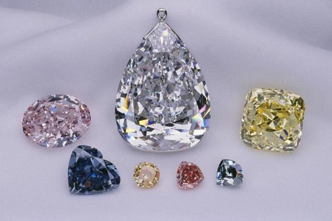 Colorido diamantes