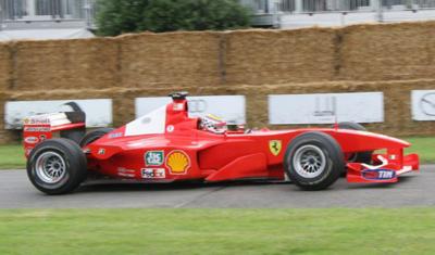 A la venta el monoplaza de Michael Schumacher