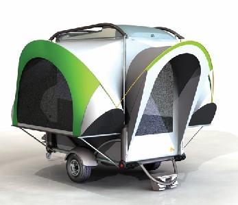 Mini trailer para tus escapadas de camping