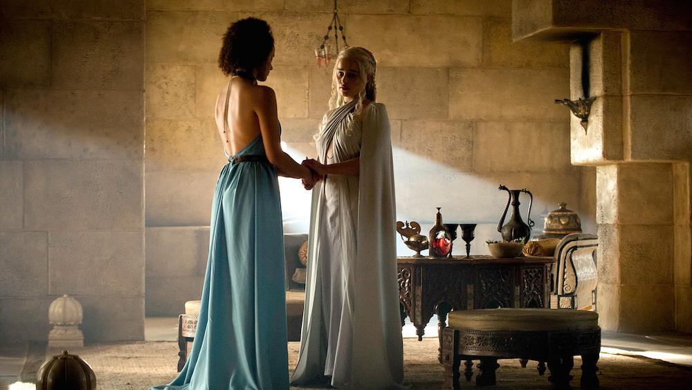 Foto de Daenerys Targaryen vestuario 5 temporada Juego de Tronos (6/7)